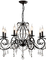 cheap -LightMyself™ Artistic Traditional / Classic Chandelier Pendant Light Ambient Light - Crystal, 110-120V 220-240V Bulb Not Included