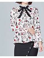 preiswerte -Damen Geometrisch Bluse, Ständer