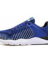 abordables -Homme Chaussures Tulle Printemps Automne Confort Basket pour Décontracté Noir Bleu de minuit Gris