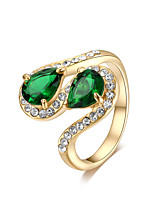 cheap -Women's Gold Plated Band Ring - Vintage Elegant For Party Birthday