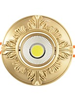 cheap -ZHISHU 1pc 9W 1 LEDs Easy Install Recessed Tri-color LED Downlights 110-120V 220-240V