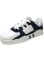 cheap -Men's Shoes PU Winter Comfort Sneakers for Casual Gray Black/White Almond