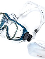 cheap -Swim Mask Goggle / Snorkel Mask Professional Level, Easily Adjustable Single Window - Diving, Swimming PC, Tempered Glass - for Adults