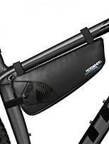 Недорогие -ROSWHEEL Велосумка/бардачок 1.1L Бардачок на раму Противозаносный Дожденепроницаемый Велосумка/бардачок Нейлон Велосумка Велосипедный