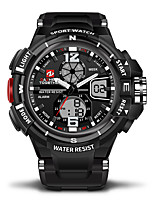 cheap -Men's Women's Digital Sport Watch Casual Watch Japanese Calendar / date / day Water Resistant / Water Proof Casual Watch Stopwatch Dual