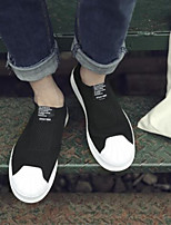 cheap -Men's Shoes Canvas Spring Summer Comfort Sneakers for Casual Black Gray