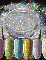 cheap -16 Glitter Powder Elegant & Luxurious Glitter & Sparkle Nail Art Tips