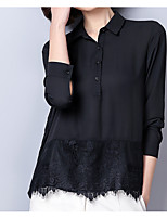 cheap -Women's Cute Cotton Shirt Shirt Collar