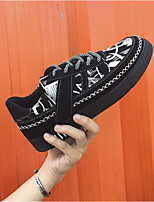 cheap -Men's Shoes Fabric Spring Fall Comfort Sneakers for Casual Black/White Black/Red Black/Blue