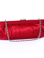 cheap -Women's Bags Silk Evening Bag Rivet for Wedding Event/Party Spring All Seasons Red White yellow