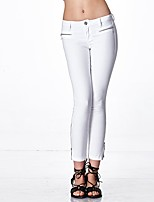 cheap -HEART SOUL Women's Simple Street chic Jeans Pants - Solid Colored