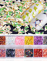 cheap -1pcs Nail Glitter Sequins Fashionable Jewelry Elegant & Luxurious Nail Art Tips Nail Art Design