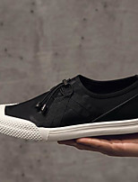 cheap -Men's Shoes Canvas Spring Summer Comfort Sneakers for Casual Black