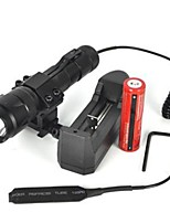 cheap -LED Flashlights / Torch 2500lm 1 Mode Camping / Hiking / Caving / Cycling / Bike Black