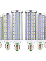 cheap -YWXLIGHT® 6pcs 45W 4400-4500 lm E26/E27 LED Corn Lights 140 leds SMD 5730 Warm White Cold White Natural White AC 85-265V
