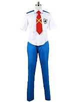 cheap -Inspired by Macross Frontier Cosplay Anime Cosplay Costumes Cosplay Suits Other Short Sleeves Shirt Pants Tie For Men's Women's