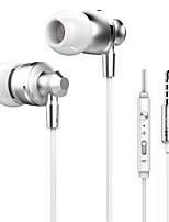 abordables -Con Cable Auriculares Piezoelectricidad Carcasadeplástico Teléfono Móvil Auricular Auriculares