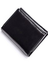 cheap -Unisex Bags Cowhide Coin Purse Buttons for Formal / Office & Career Camel / Wine / Royal Blue