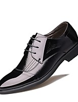 cheap -Men's Shoes Synthetic Microfiber PU Nappa Leather Spring Summer Comfort Oxfords Walking Shoes for Casual Outdoor Black