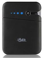 abordables -Banque de puissance 10400mah batterie externe 5 chargeur de batterie qc 2.0 led