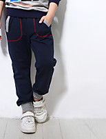 cheap -Boys' Solid Colored Pants Spring Blue Gray