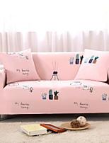 Недорогие -Милый стиль 100% полиэстер, жаккард Накидка на диван для двоих, Простой удобный Современный стиль С принтом Чехол с функцией перевода в