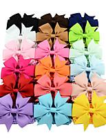 cheap -Headbands Hair Accessories Satin Wigs Accessories Girls' 18pcs pcs cm Daily Cute Kids