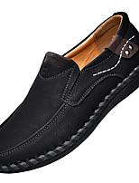 Недорогие -Муж. обувь Микроволокно Весна Лето Обувь для дайвинга Удобная обувь Мокасины и Свитер для Повседневные на открытом воздухе Черный