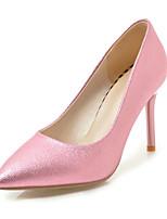 abordables -Femme Chaussures Polyuréthane Printemps Eté Escarpin Basique Chaussures à Talons Talon Aiguille Bout pointu pour Mariage Bureau et