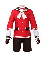 baratos -Inspirado por Ensemble Stars Outro Anime Fantasias de Cosplay Ternos de Cosplay Outro Manga Longa Casaco Camisa Calças Mais Acessórios