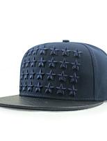 Недорогие -Универсальные Для вечеринки На каждый день Шляпа от солнца Бейсболка Полиуретановая Хлопок Полиэстер, Однотонный
