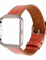 cheap -Watch Band for Fitbit Blaze Fitbit Leather Loop Genuine Leather Wrist Strap