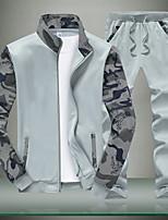 cheap -Men's Sweatshirt - Geometric Stand