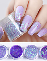 cheap -4pcs Glitter Powder Nail Glitter Nail Art Design