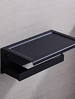 Недорогие -Держатель для туалетной бумаги Высокое качество Креатив Modern Латунь 1шт - Гостиничная ванна На стену