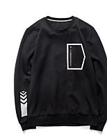 abordables -Homme Sweatshirt - Imprimé, Géométrique