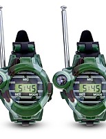 preiswerte -Interphone Outdoor Übungen Camping / Wandern / Erkundungen Multi-Funktion Armband Uhren Kompass Kunststoff Plastikschale 2 Stück