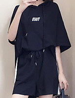 cheap -Women's Basic Blouse - Color Block, Print Pant