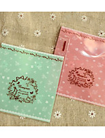 cheap -Square Shape Plastic Favor Holder with Pattern / Print Favor Bags - 1pc
