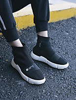 abordables -Homme Chaussures Tulle Hiver Automne Confort Basket pour Décontracté Noir