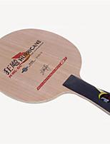 economico -DHS® Hurricane H-WL-GC FL Ping-pong Racchette Indossabile Duraturo di legno Fibra di carbonio 2 + 2 + GC 1
