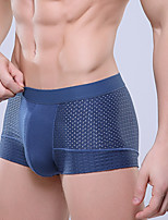 cheap -men's sexy boxers underwear solid colored