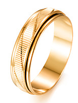 cheap -Men's Gold Plated Band Ring - Circle Fashion Gift For Gift Valentine