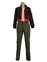 abordables -Inspirado por Macross Frontier Cosplay Animé Disfraces de cosplay Trajes Cosplay Otros Manga Larga Top Pantalones Más Accesorios Para