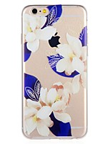 economico -Custodia Per Apple iPhone 8 iPhone 7 Fantasia/disegno Per retro Fiore decorativo Morbido TPU per iPhone 8 Plus iPhone 8 iPhone 7 Plus