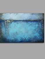 cheap -Hand-Painted Abstract Still Life Vertical Panoramic, Comtemporary Vintage Canvas Oil Painting Home Decoration One Panel