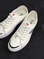 Недорогие -Муж. обувь Полотно Лето Удобная обувь Кеды для Повседневные Белый Черный Серый