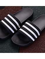 Недорогие -Жен. Универсальные Обувь Этиленвинилацетат Весна Лето Удобная обувь Тапочки и Шлепанцы На плоской подошве для Повседневные Черный