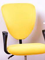 abordables -Moderne 100% Polyester Jacquard Housse de chaise, simple Couleur Pleine Imprimé Literie
