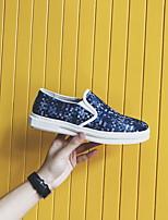 abordables -Homme Chaussures Tissu Eté Confort Basket pour Décontracté Noir Vert Bleu
